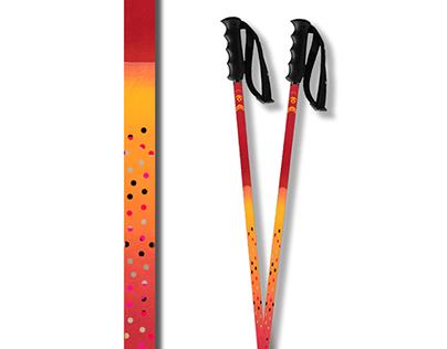 Ski Poles design