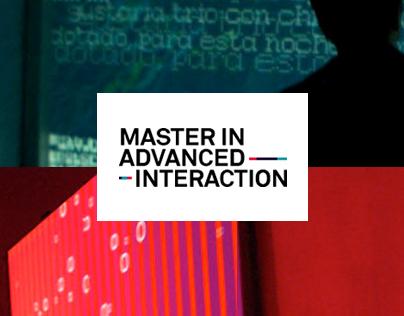 IAAC Master in Avanced Interaction | UX & HTML/CSS