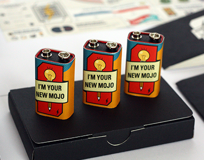 Branding | Self Promotion - I'm Your New Mojo
