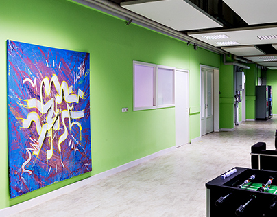 ZiD Visions // Work on Commission / Berlin Office Space