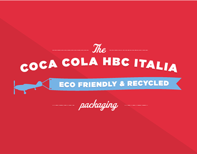 Coca Cola HBC Recycled Packaging - Animation