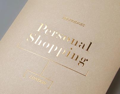 Personal Shopping –Selfridges