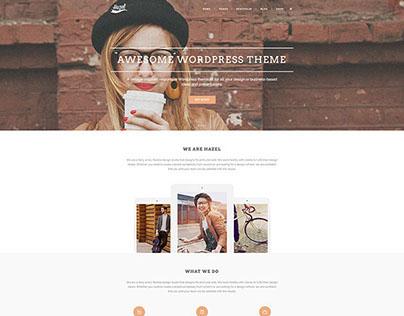 Hazel Wordpress Theme by select-themes.com