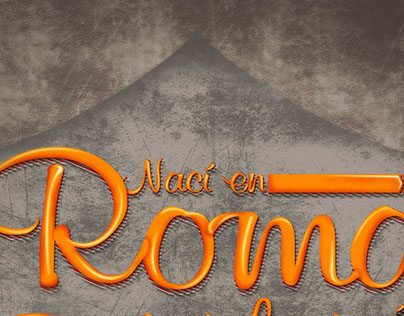 LETTERING AS ROMA