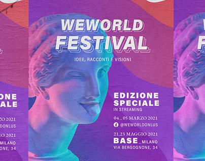 WE WORLD FESTIVAL _ We World Onlus