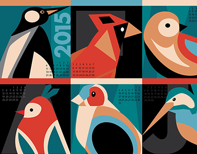 Calendar Design for 2015