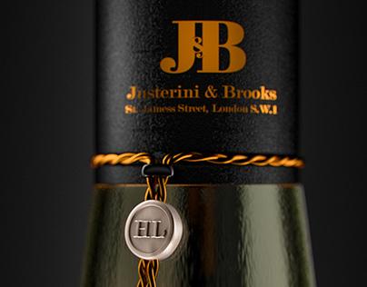 J&B Whiskey - Humphrey Lyttelton Edition