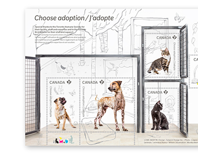 "Canada Post ""Adopt A Pet"" Collection"