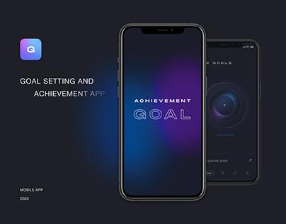 Achievement goal app