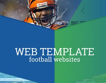Football Web Template