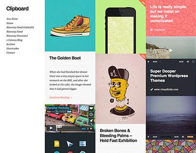 Clipboard - Wordpress Theme by visualkicks.com