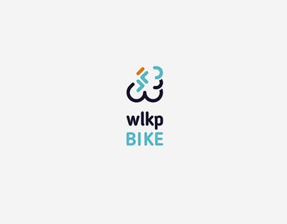 Wlkp Bike | Logo rowerowych tras Wielkopolski