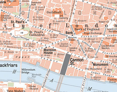 Map of Central London