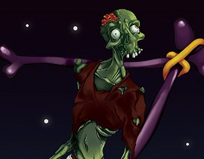 Create a Digital Painting of a Zombie... for Tuts+
