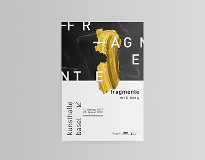 poster campaign for Kunsthalle Basel //