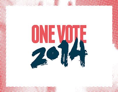 ONE VOTE 2014