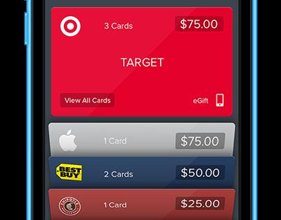 Raise App UI design