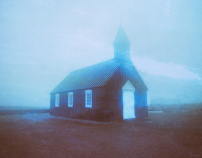 Psychedelia: Expired Polaroids in Iceland