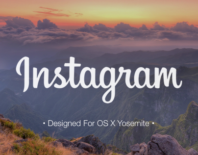 Instagram For OS X Yosemite
