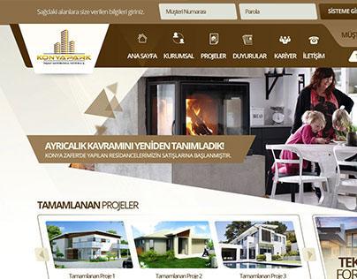 KonyaPark Website Tasarımı