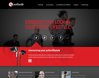 yurbuds website refresh