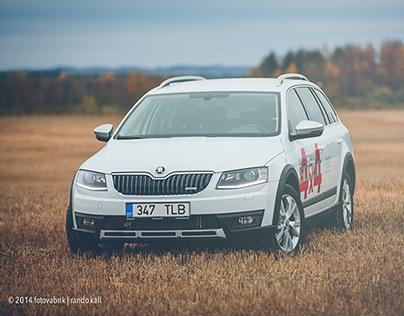 New Škoda Octavia Scout