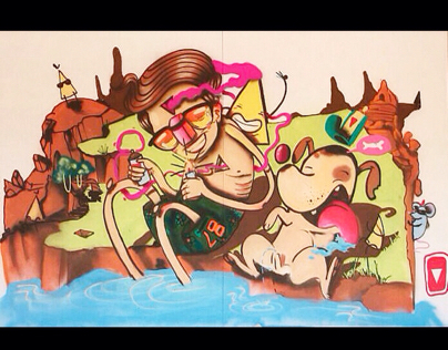 Mural #hoyesdiseño #vital #vitalart #lipsum