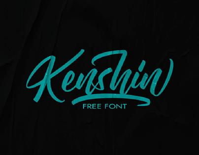 Kenshin - Free font