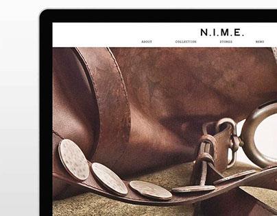 N.I.M.E.™ Bags | Web Design