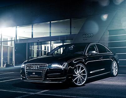 Audi A8 Vossen Wheels