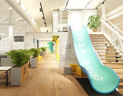 Interior Design Concept for Software Company
