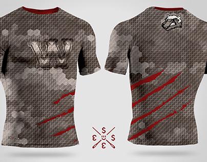 Compression shirt design