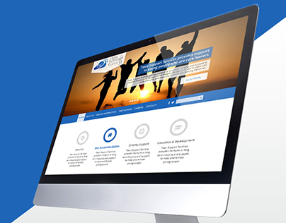 UI/Web Design for Teen Support Services (TSS)