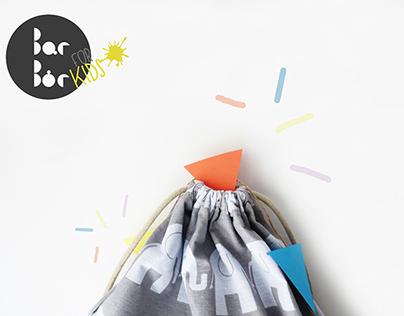 Design for Kids - cotton backpack