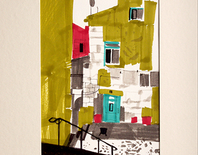 lisbon CITY SKETCHES