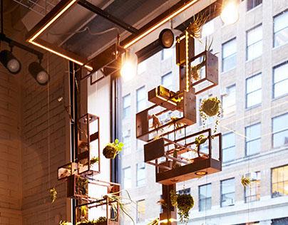 Micro-Vertical Garden