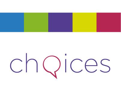Choices - brand identity