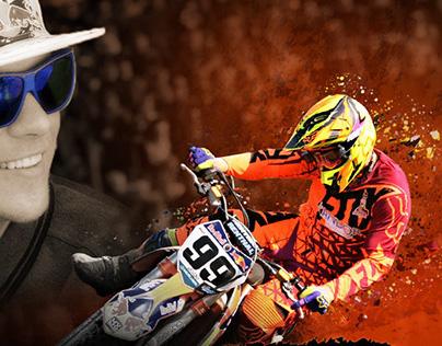 Motorcross Photoshop Collage