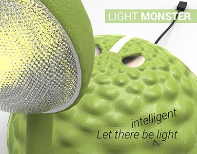 Light Monster - a kid's table lamp
