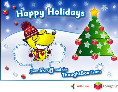 ThoughtBox - Christmas Postcard