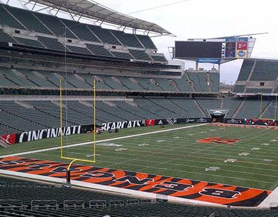 Cincinnati Bearcats: Paul Brown Stadium Field Wall