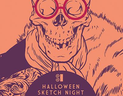 SI Halloween Sketch Night