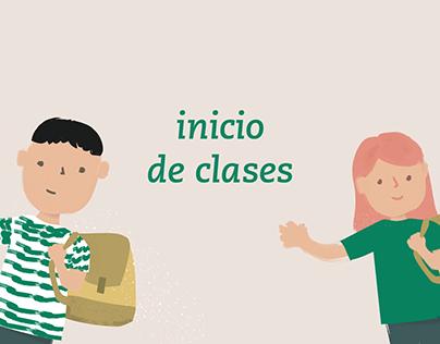 Start of class - Colegio y Liceo Latinoamericano