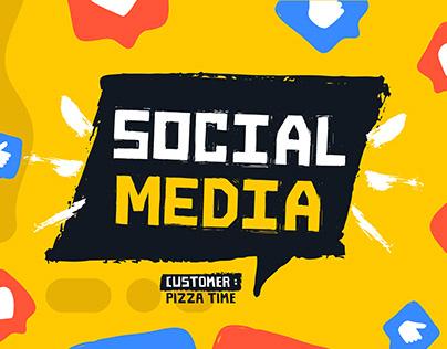 Social Media - PizzaTime