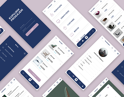Kupujem/Prodajem - Concept Shoppng App Redesign