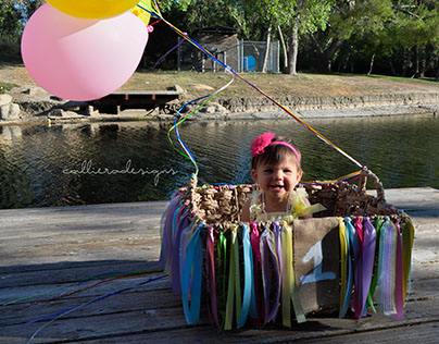 Audrine's First Birthday