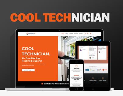 Cool Technician | Wordpress Responsive Website