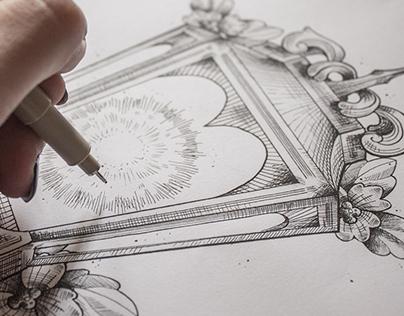 Into The Light Illustration