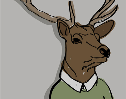 Alfred the Stag
