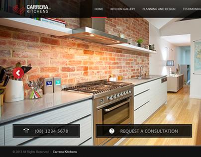 Carrera Kitchen Website